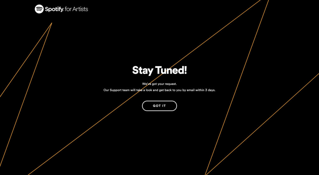 spotify for artistsの登録方法