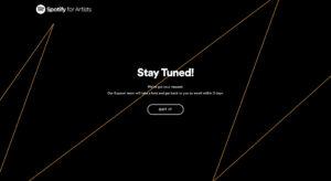spotify for artistsの登録方法
