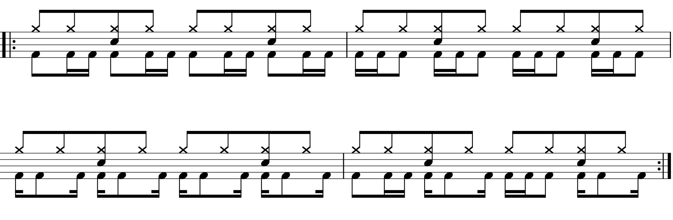 バスドラムを速く踏むための練習方法