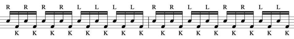 バスドラムの練習方法